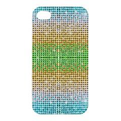 Diamond Cluster Color Bling Apple iPhone 4/4S Premium Hardshell Case