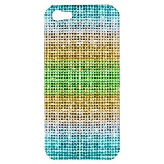 Diamond Cluster Color Bling Apple iPhone 5 Hardshell Case