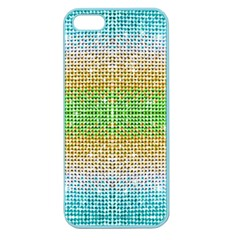 Diamond Cluster Color Bling Apple Seamless Iphone 5 Case (color)