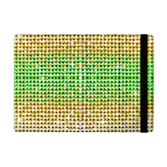 Diamond Cluster Color Bling Apple Ipad Mini Flip Case