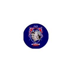 Queen Elizabeth 2012 Jubilee Year Mini Button (round)