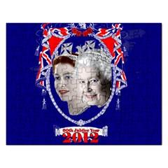 Queen Elizabeth 2012 Jubilee Year Jigsaw Puzzle (Rectangle)