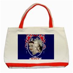 Queen Elizabeth 2012 Jubilee Year Red Tote Bag