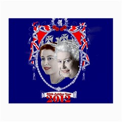 Queen Elizabeth 2012 Jubilee Year Twin-sided Glasses Cleaning Cloth