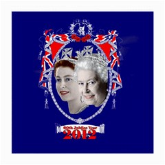 Queen Elizabeth 2012 Jubilee Year Single Sided Large Glasses Cleaning Cloth