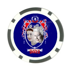 Queen Elizabeth 2012 Jubilee Year Poker Chip