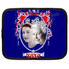 Queen Elizabeth 2012 Jubilee Year 12  Netbook Case