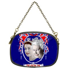 Queen Elizabeth 2012 Jubilee Year Single Sided Evening Purse