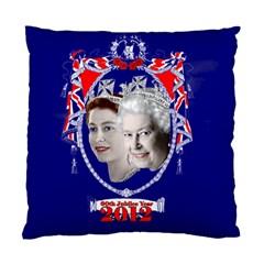 Queen Elizabeth 2012 Jubilee Year Single Sided Cushion Case