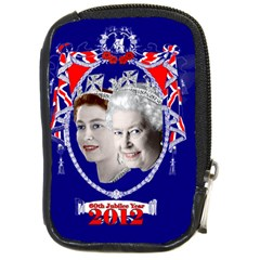 Queen Elizabeth 2012 Jubilee Year Digital Camera Case