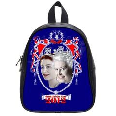 Queen Elizabeth 2012 Jubilee Year Small School Backpack