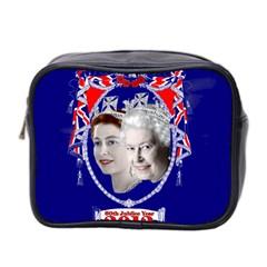 Queen Elizabeth 2012 Jubilee Year Twin Sided Cosmetic Case