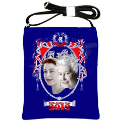 Queen Elizabeth 2012 Jubilee Year Cross Shoulder Sling Bag