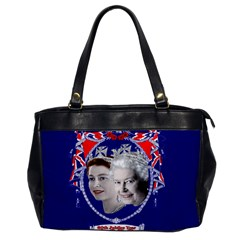 Queen Elizabeth 2012 Jubilee Year Single-sided Oversized Handbag
