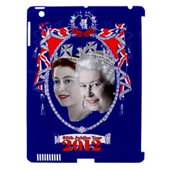 Queen Elizabeth 2012 Jubilee Year Apple iPad 3/4 Hardshell Case (Compatible with Smart Cover)