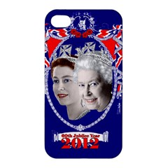 Queen Elizabeth 2012 Jubilee Year Apple iPhone 4/4S Premium Hardshell Case