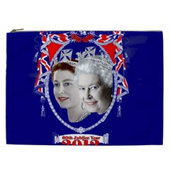 Queen Elizabeth 2012 Jubilee Year Cosmetic Bag (XXL)