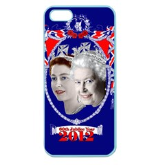 Queen Elizabeth 2012 Jubilee Year Apple Seamless iPhone 5 Case (Color)