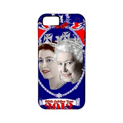 Queen Elizabeth 2012 Jubilee Year Apple iPhone 5 Classic Hardshell Case (PC+Silicone)