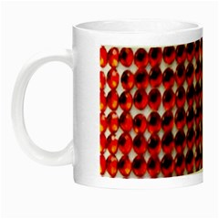 Deep Red Sparkle Bling Glow in the Dark Mug