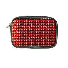 Deep Red Sparkle Bling Ultra Compact Camera Case