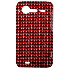 Deep Red Sparkle Bling HTC Incredible S Hardshell Case