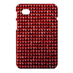 Deep Red Sparkle Bling Samsung Galaxy Tab 7  P1000 Hardshell Case