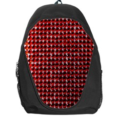 Deep Red Sparkle Bling Backpack Bag