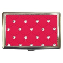 Red Diamond Bling  Cigarette Box