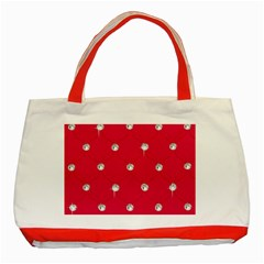 Red Diamond Bling  Red Tote Bag