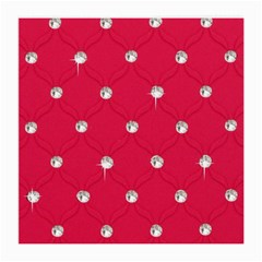 Red Diamond Bling  Twin-sided Large Glasses Cleaning Cloth