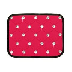 Red Diamond Bling  7  Netbook Case