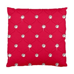 Red Diamond Bling  Single Sided Cushion Case