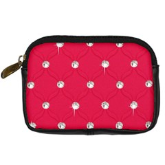 Red Diamond Bling  Compact Camera Case