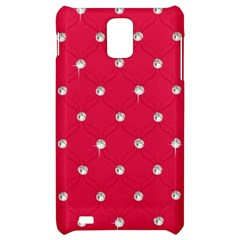 Red Diamond Bling  Samsung Infuse 4G Hardshell Case