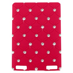 Red Diamond Bling  Kindle Touch 3G Hardshell Case