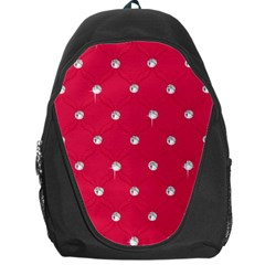 Red Diamond Bling  Backpack Bag