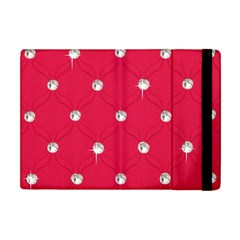 Red Diamond Bling  Apple iPad Mini Flip Case