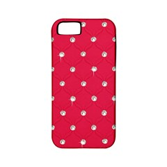 Red Diamond Bling  Apple iPhone 5 Classic Hardshell Case (PC+Silicone)
