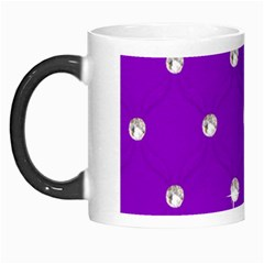 Royal Purple Sparkle Bling Morph Mug