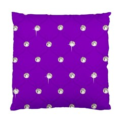 Royal Purple Sparkle Bling Twin Sided Cushion Case