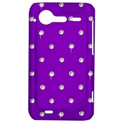 Royal Purple Sparkle Bling HTC Incredible S Hardshell Case