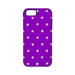 Royal Purple Sparkle Bling Apple iPhone 5 Classic Hardshell Case (PC+Silicone)