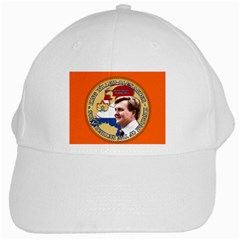 King Willem Alexander White Baseball Cap