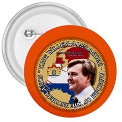 King Willem-Alexander Large Button (Round)