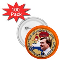 King Willem-Alexander 100 Pack Small Button (Round)