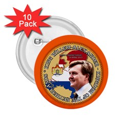 King Willem-Alexander 10 Pack Regular Button (Round)