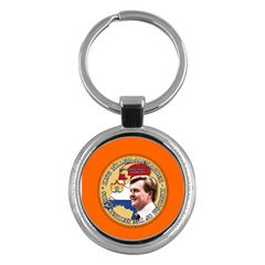 King Willem-Alexander Key Chain (Round)