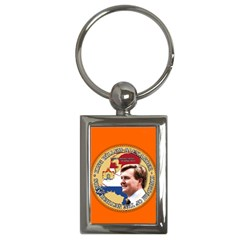 King Willem Alexander Key Chain (rectangle)