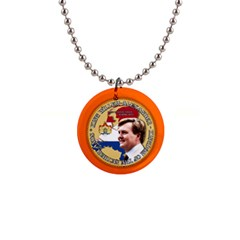 King Willem Alexander Mini Button Necklace